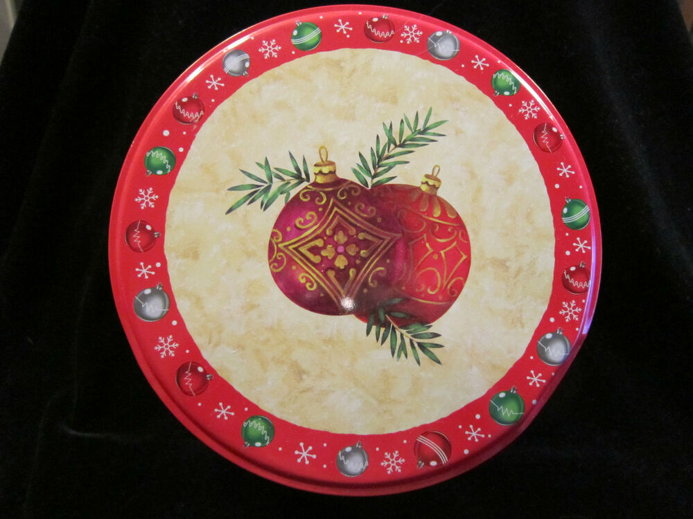 Greenbrier international inc cookie tin with ornament for Decor valley international inc
