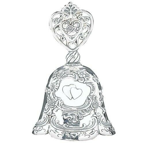 Irish Wedding Gifts Traditions: Irish Traditional Make-Up Bell, Silver Plated- Great