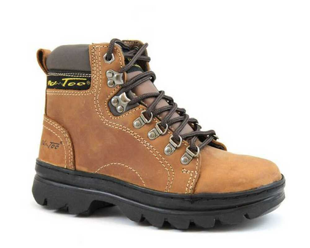 Adtec Womens 6 Quot Crazy Horse Leather Hiking Amp Work Boots