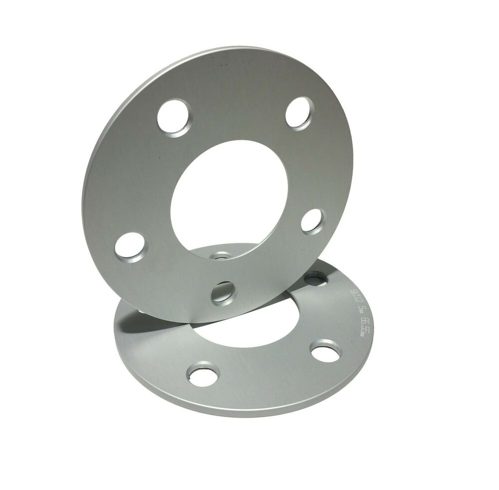 2pc 5mm thick hub centric wheel spacers audi for Wheel spacers for mercedes benz