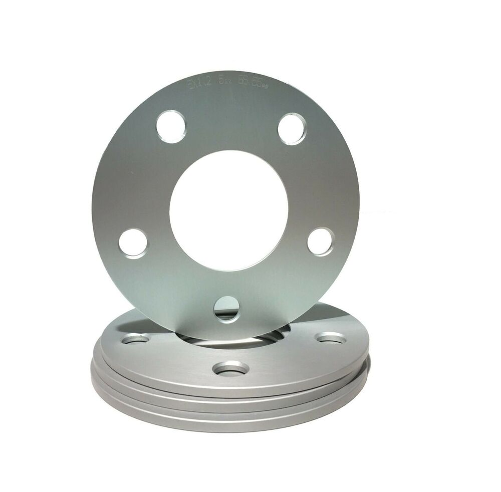 4pc 5mm thick hub centric wheel spacers audi for Wheel spacers for mercedes benz