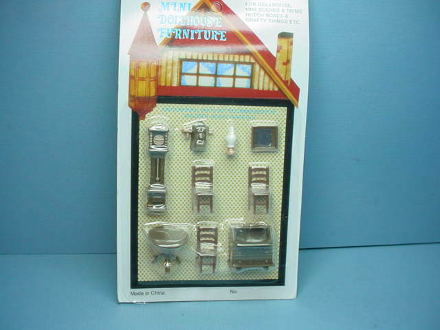 Dollhouse Miniature Living Room Set 1 4 Quot Scale G1452