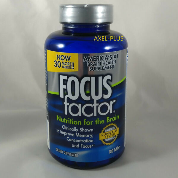 FOCUS Factor Brain Nutrition Supplement 150 ct