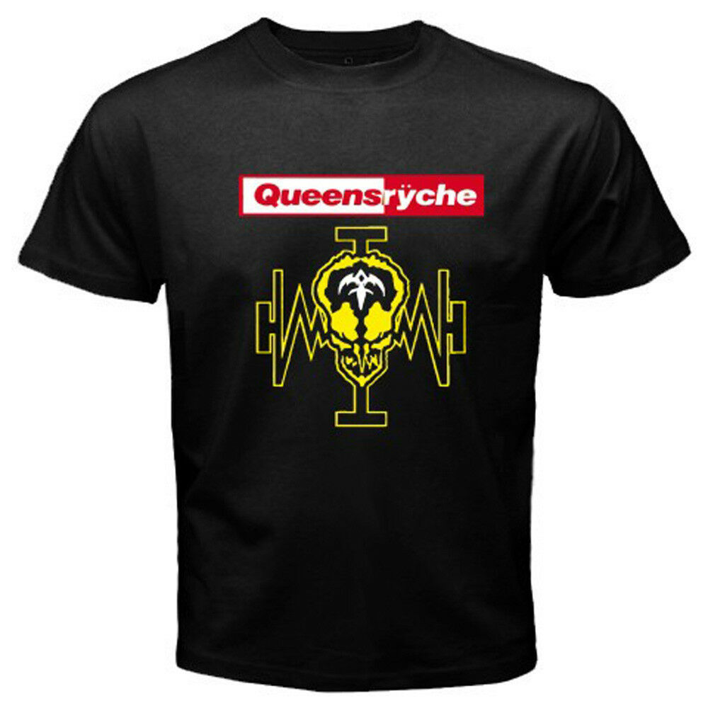 QUEENSRYCHE Logo Operation Mind Crime Rock Band Men's ... Queensryche Logo