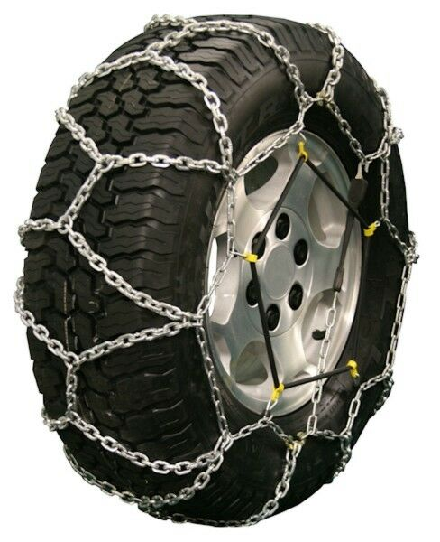quality chain  diamond  mm link tire chains traction suv lt truck ebay
