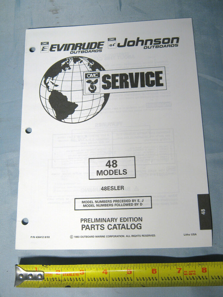 Johnson evinrude 48 hp models outboard boat motor parts for Outboard motor parts online