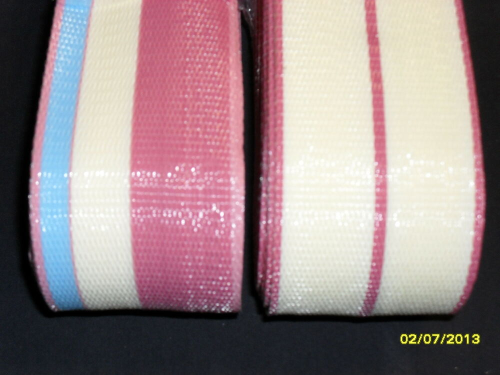 Lawn chair replacement webbing 144ft new matching colors