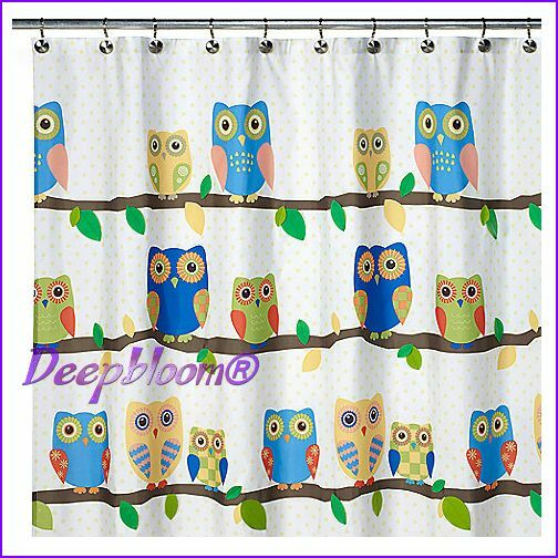 Allure bath shower curtain fabric 70 x 71 kids what a hook for Kids curtain fabric
