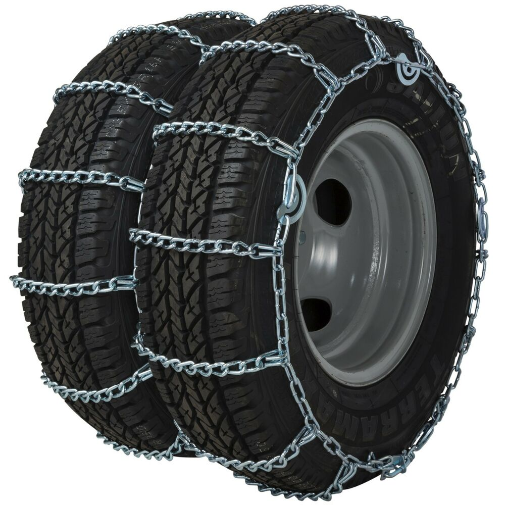 quality chain 4221qc dual triple cam link tire chains snow traction truck ebay. Black Bedroom Furniture Sets. Home Design Ideas