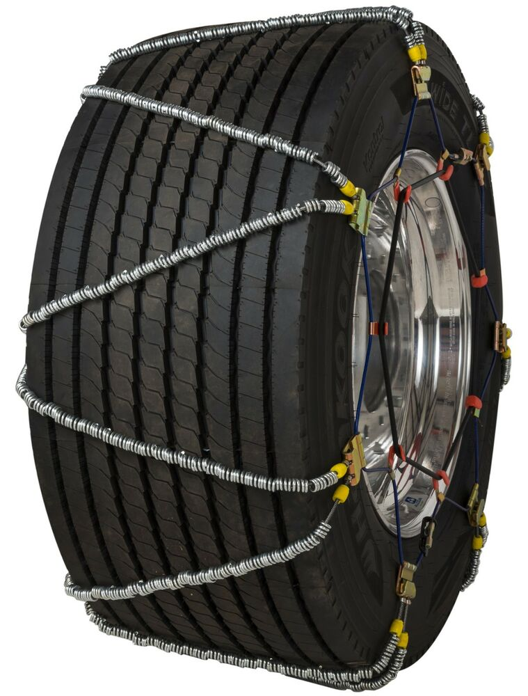 quality chain qv897 super single volt cable tire chains traction snow ice truck ebay. Black Bedroom Furniture Sets. Home Design Ideas