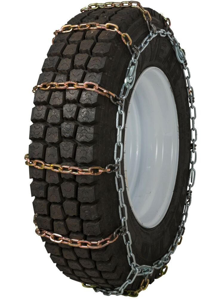 quality chain 2145slc cam 7mm square link tire chains traction commercial truck ebay. Black Bedroom Furniture Sets. Home Design Ideas