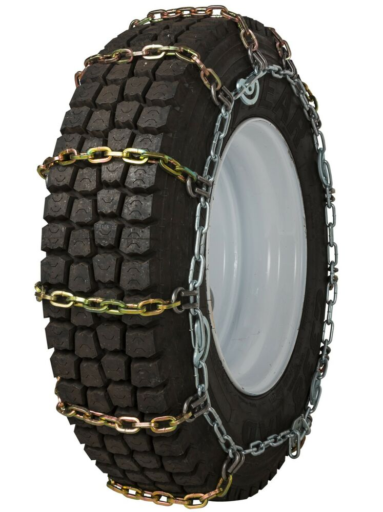 quality chain hdqc cam mm square link tire chains snow traction truck ebay