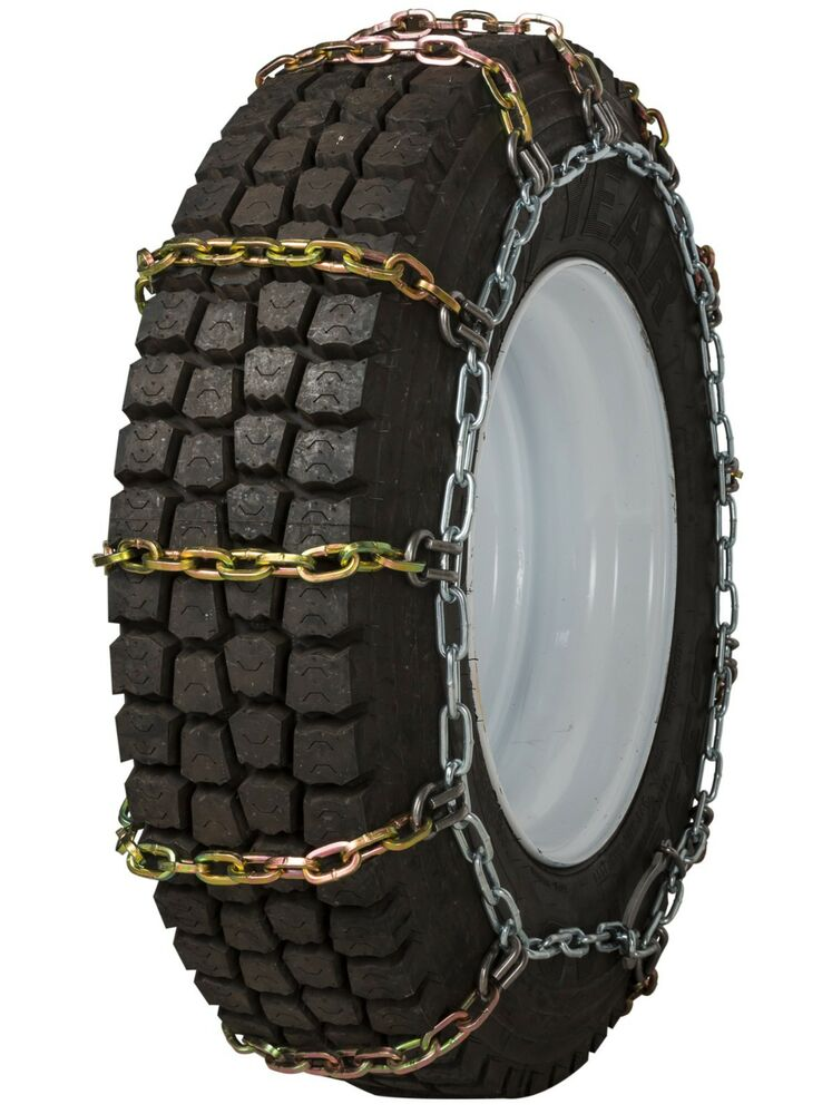 quality chain 2145rhd non cam 8mm square link tire chains snow traction truck ebay. Black Bedroom Furniture Sets. Home Design Ideas