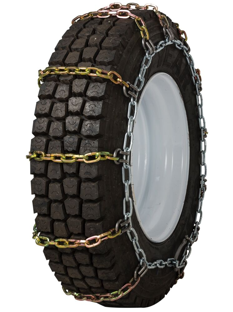 quality chain 2150rhd non cam 8mm square link tire chains snow traction truck ebay. Black Bedroom Furniture Sets. Home Design Ideas