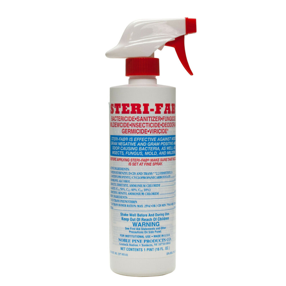 Steri Fab Bed Bug Spray Insecticide 1 Pint Dust Mite Bed Bugs Mattress Spray Ebay