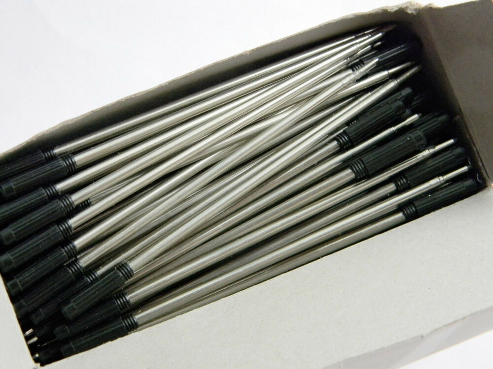 100pcs black style type ballpoint pen ink refills on sale for Ink sale