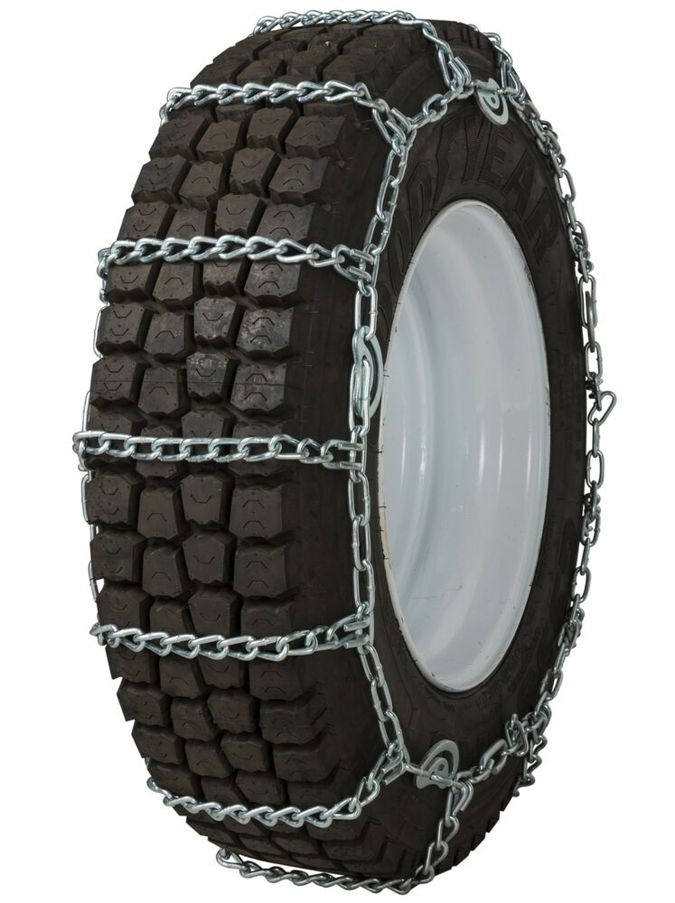 quality chain 2247qc cam 7mm link tire chains snow traction commercial truck ebay. Black Bedroom Furniture Sets. Home Design Ideas