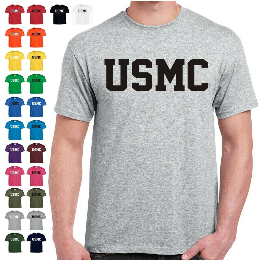 USMC Marines Physical Training US Military PT T Shirt 24 ...