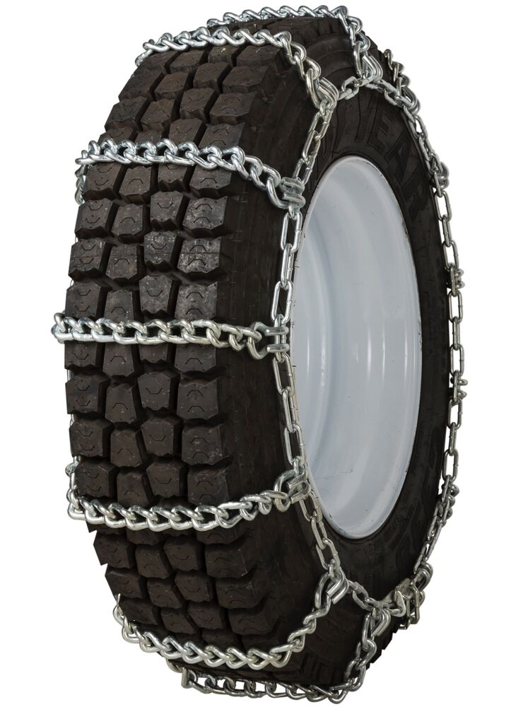quality chain 2452hh non cam 10mm link tire chains snow mud commercial truck ebay. Black Bedroom Furniture Sets. Home Design Ideas