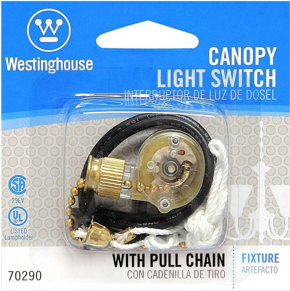 Pull Chain Canopy Switch 6 Amp 125vac Shine Top Ls 301a 27