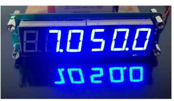 Computer Frequency Counter : Pc plj led a frequency display component
