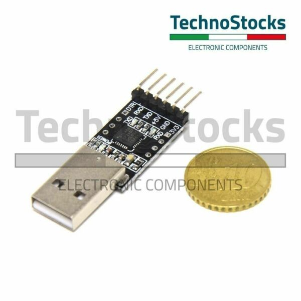 Convertitore Seriale USB-TTL CP2102 - Arduino Bootloader Programmer Breakout V1