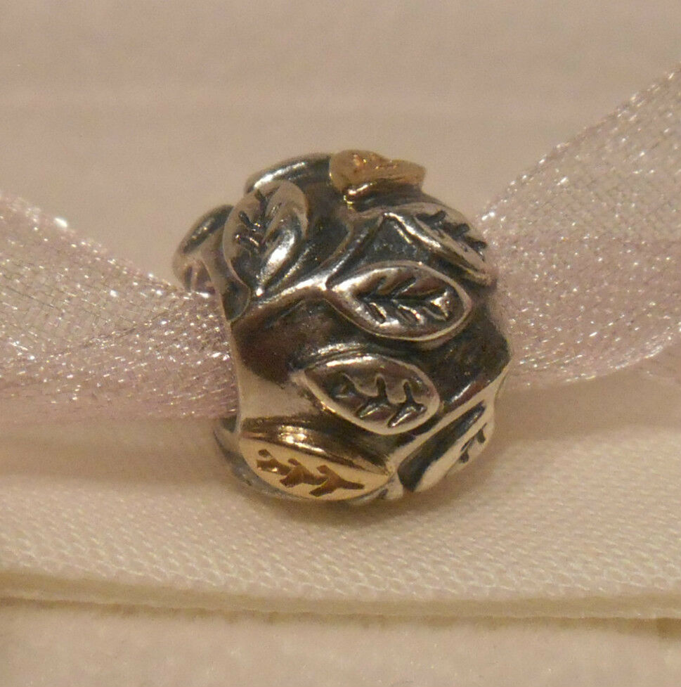 Gold Pandora Jewelry: AUTHENTIC PANDORA~TREE OF LIFE~Silver/14K Gold/Charm Bead