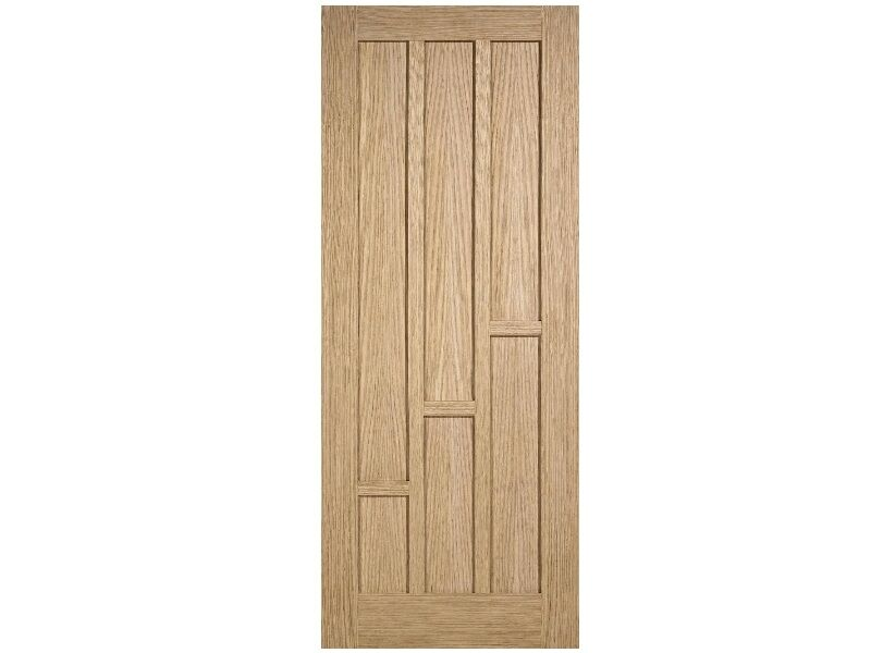 Veneered Oak Coventry 6 Panel Unfinished Door Various Sizes Interior Cheap Ebay