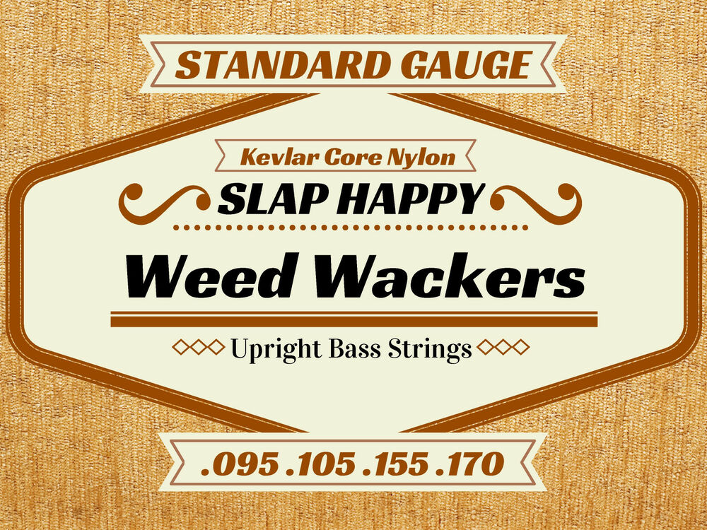 single string slap happy weedwackers synthetic gut upright double bass strings ebay. Black Bedroom Furniture Sets. Home Design Ideas