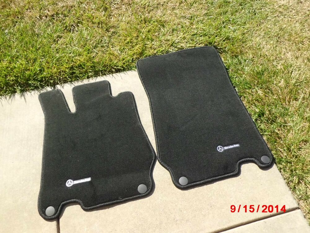 Mercedes benz w230 floor mat mats original sl55 sl63 sl550 for Mercedes benz sl550 floor mats