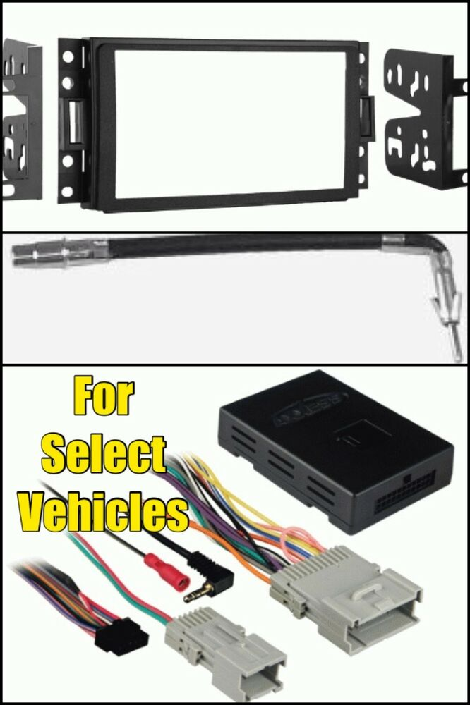 metra 95 3304 radio install dash car kit chime onstar wire harness ant adapter ebay