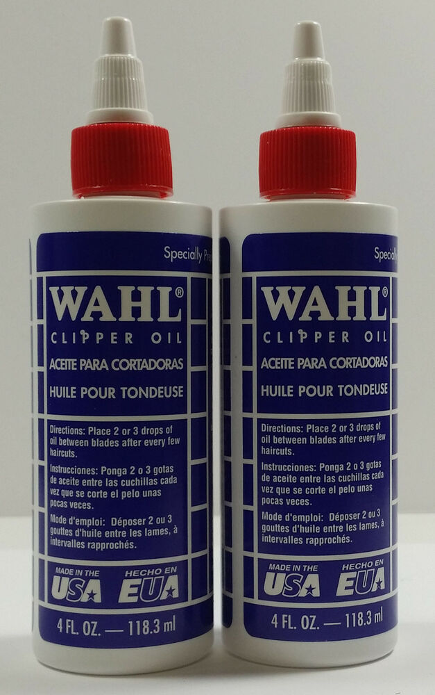 (2LOT) WAHL Lubricated Blade Oil for Hair Clipper Trimmer ... Lubicity Hair Care