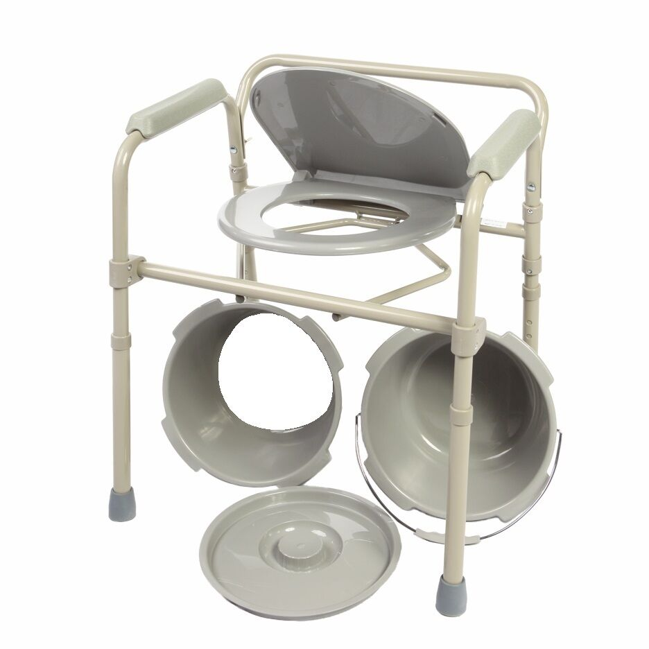mode Chair Folding Bedside Chair mode with mode Bucket and Splash Gu