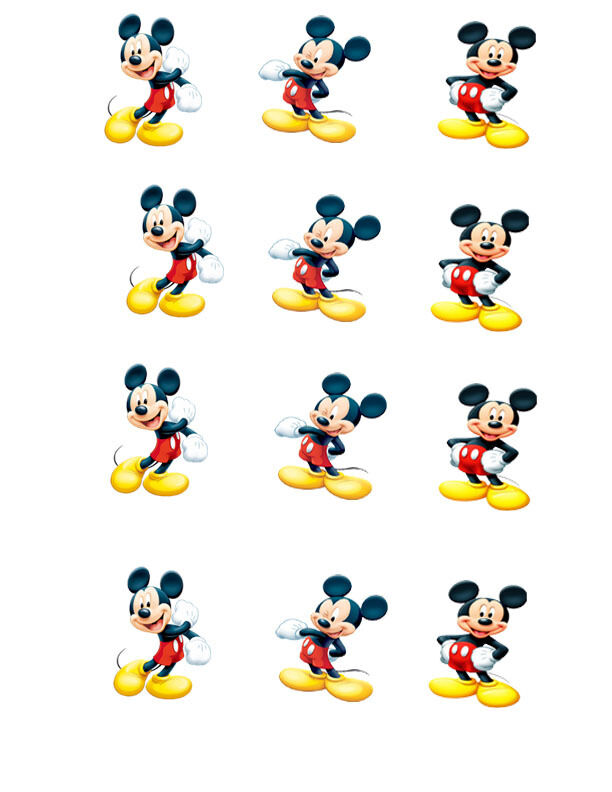 Mickey Mouse Cake Decorating Supplies