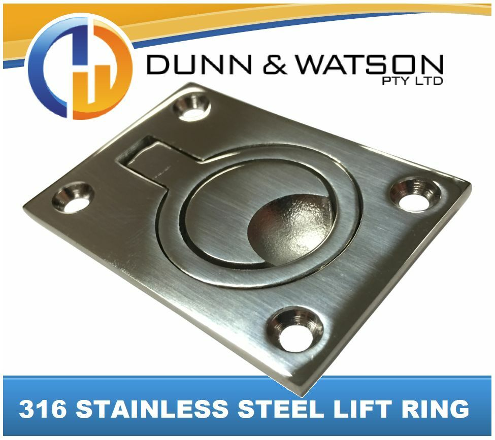 Stainless Steel Flush Boat Hatch Pull Ring