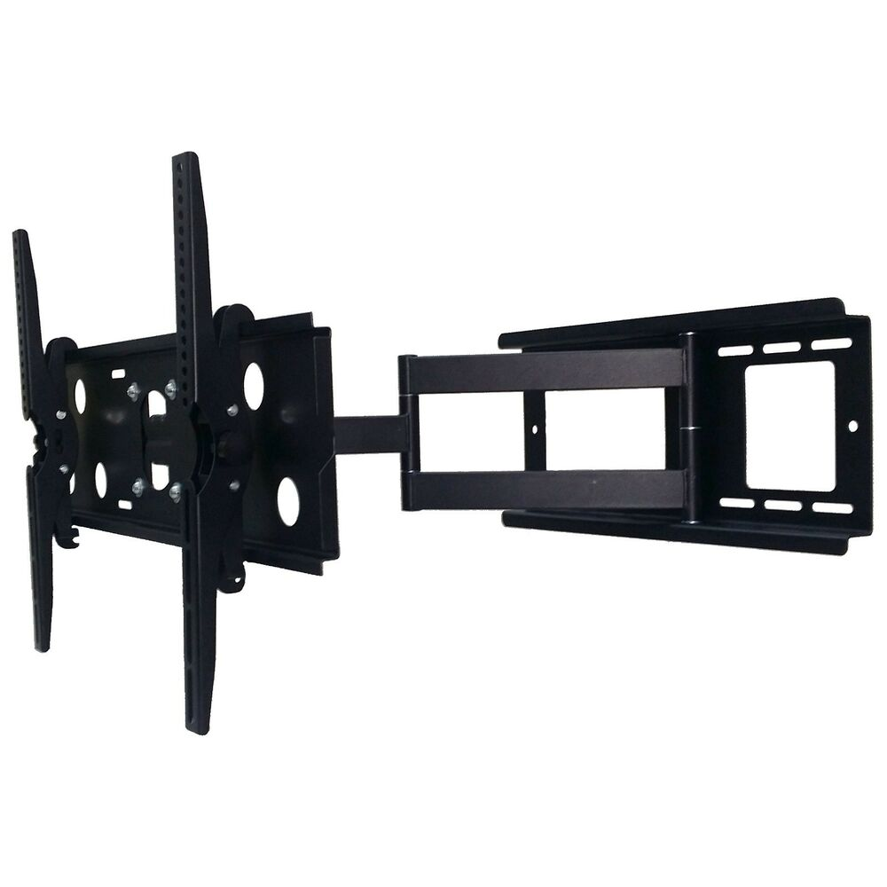 articulating tv wall mounting bracket 26 extending arm mount tilting 30 85 ebay. Black Bedroom Furniture Sets. Home Design Ideas