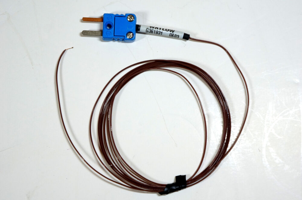 Types Of Electrical Test Equipment : Type t thermocouple watlow ex f new free