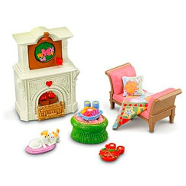 Dollhouse Furniture Discount Fisher Price Year Loving: Fisher Price LOVING FAMILY Dollhouse Furniture Set 2 In 1