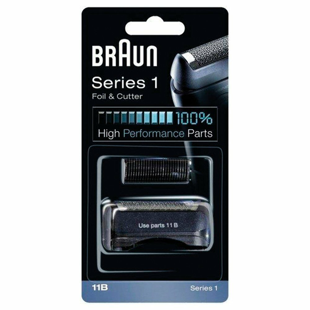 Braun 11B Series 1 Replacement Mens Mans Shaver Foil and Cutter Combi ...