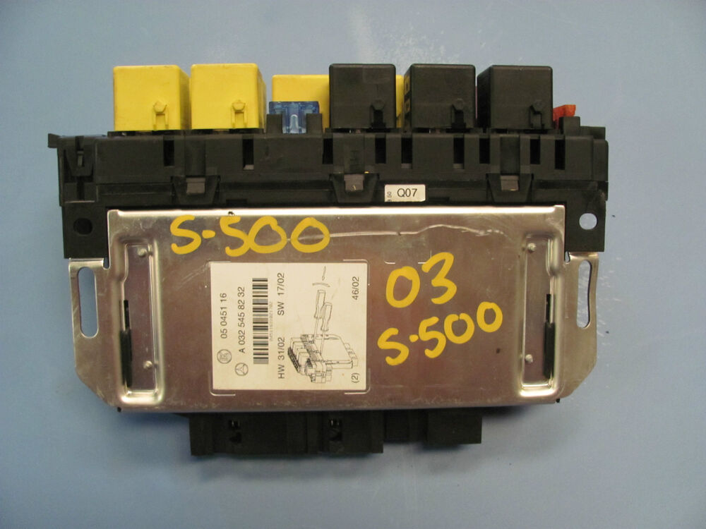 2003 mercedes s500 fuse box manual mercedes-benz w220 s430 s500 fuse relay box 0325458232 ... #11