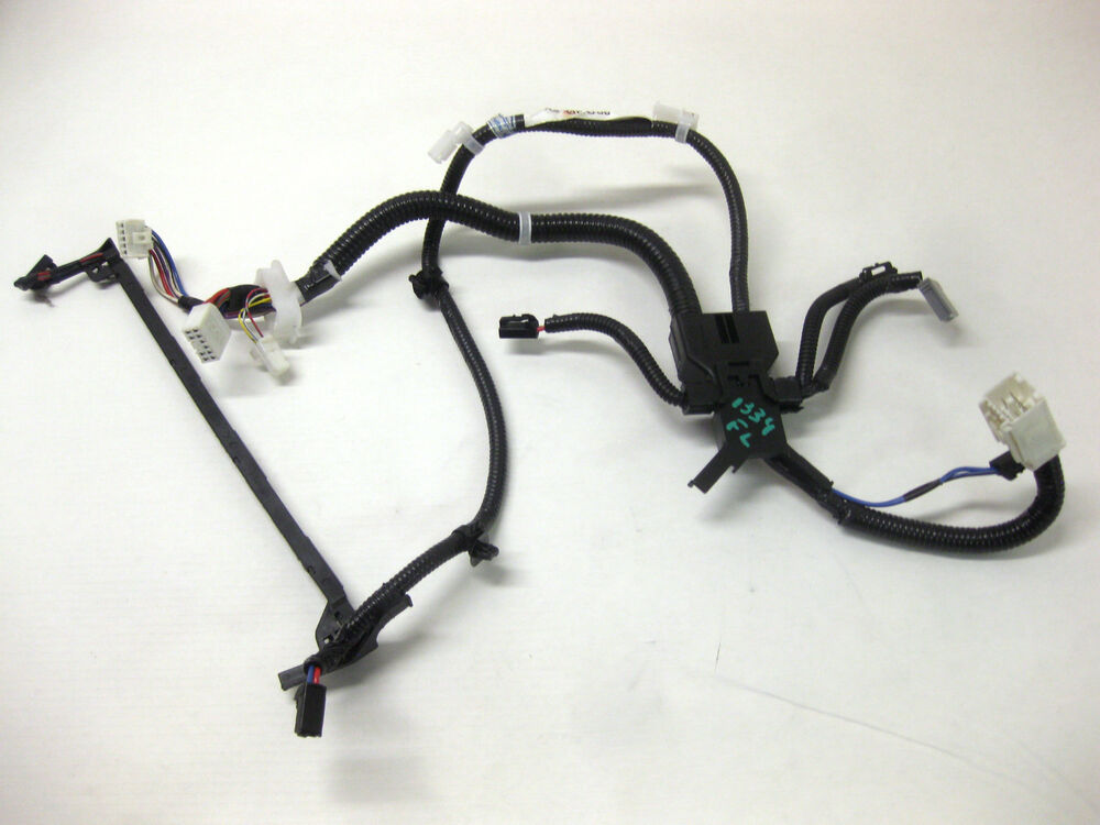 2008 toyota xle power seat wiring harness driver front left 07 08 09 10 ebay