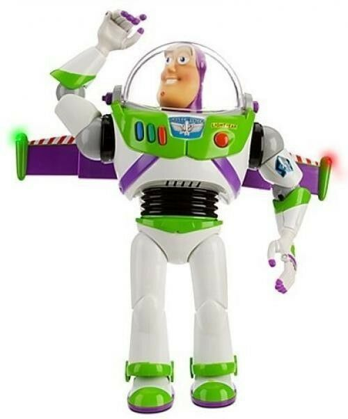 Toy Story Figures : Disney advanced toy story talking buzz lightyear action