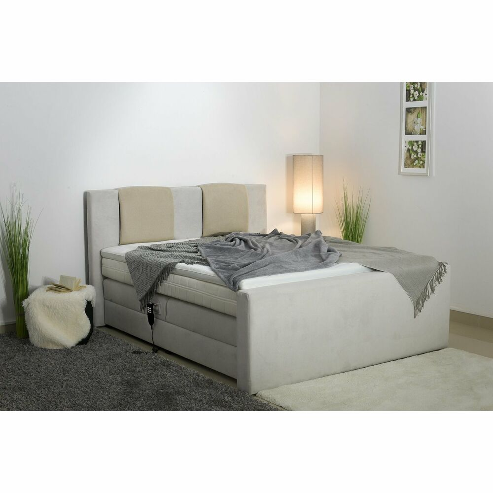 neu boxspringbett mit motor hotelbett elektrisch box boss gmg 200 topper ebay. Black Bedroom Furniture Sets. Home Design Ideas