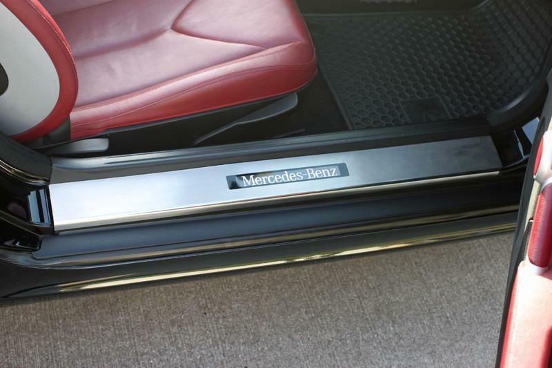 Mercedes Benz Oem Parts >> Mercedes SLK 170 1997-2003 Illuminated Door Sill Plates custom text options | eBay