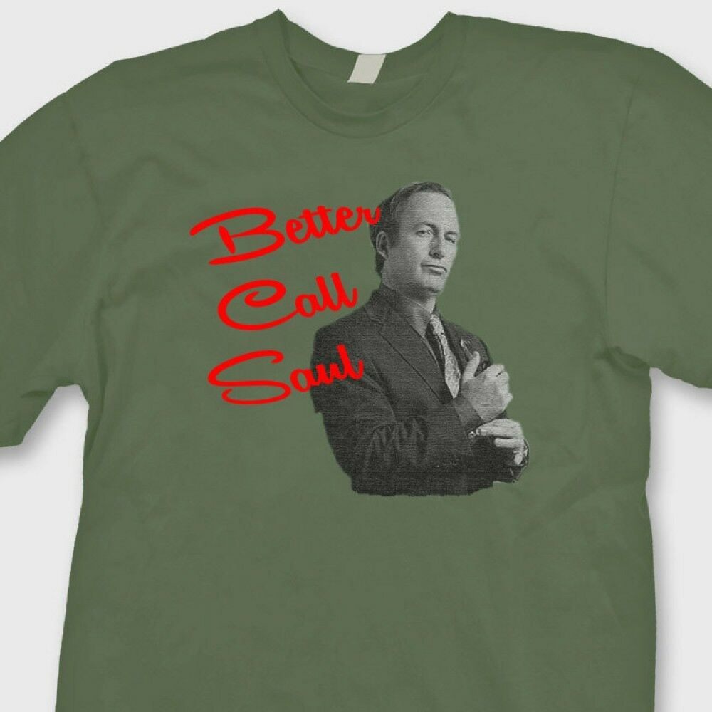 better call saul funny heisenberg t shirt breaking bad tee. Black Bedroom Furniture Sets. Home Design Ideas