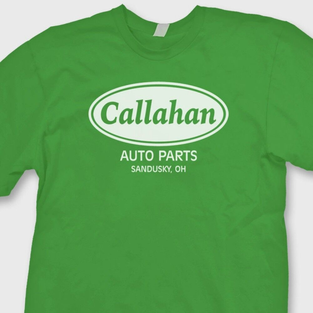 Callahan auto parts retro tommy boy movie t shirt funny for Warson motors t shirt
