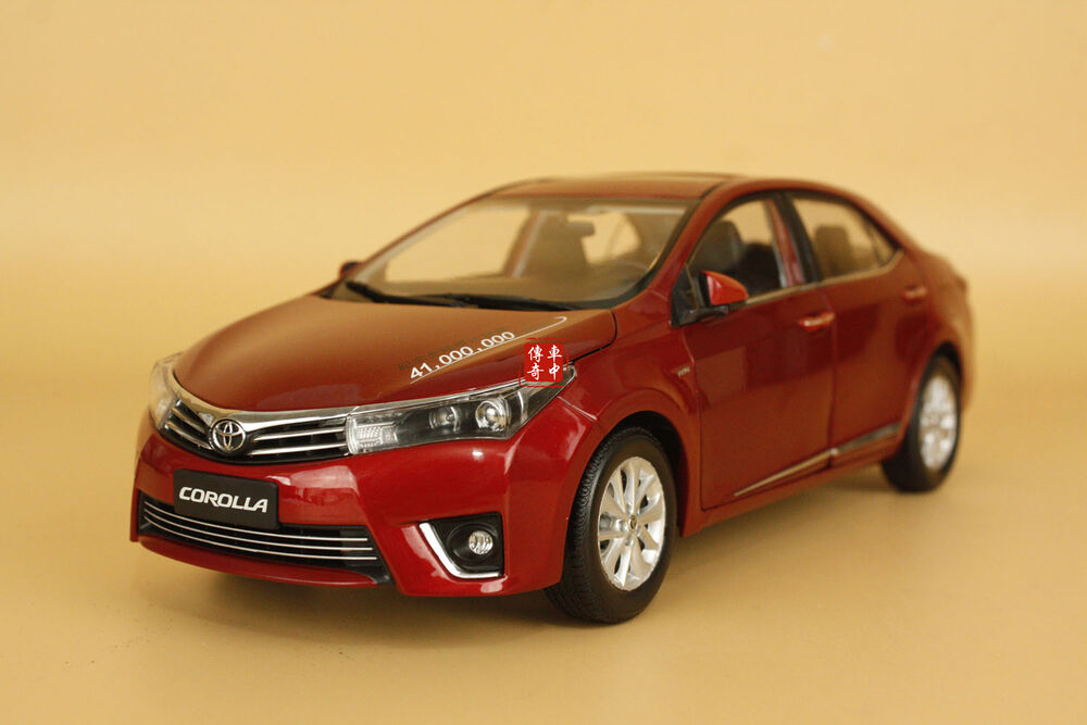 1 18 2014 china new toyota corolla red color gift ebay. Black Bedroom Furniture Sets. Home Design Ideas