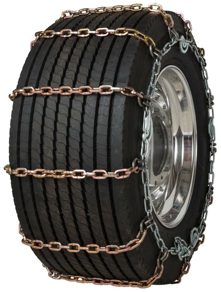 quality chain 3171slc super single 8mm square link tire chains traction truck ebay. Black Bedroom Furniture Sets. Home Design Ideas