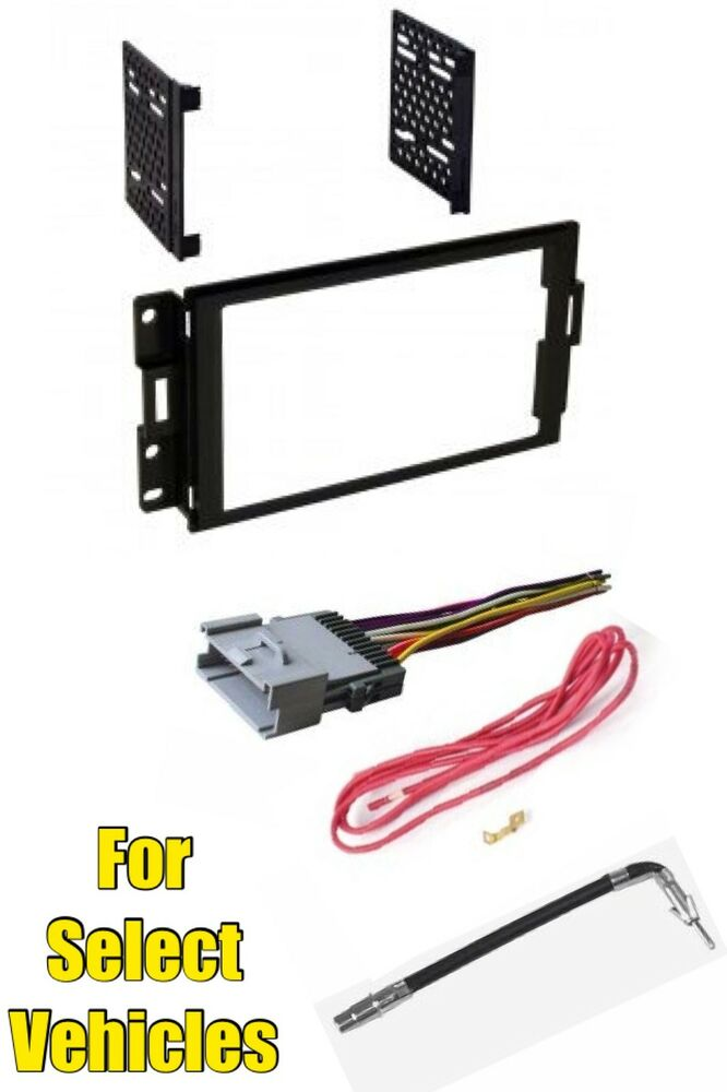 2008 Grand Prix Radio Wiring Harness : Pontiac grand prix double din stereo radio install