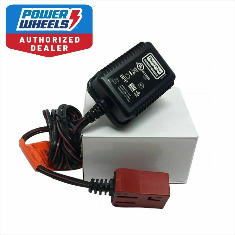power wheels 6 volt charger for 00801 0712 red 6v battery. Black Bedroom Furniture Sets. Home Design Ideas